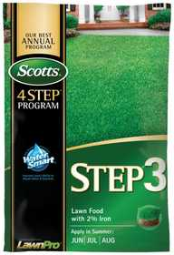 Scotts 33040 Scotts Step 3 Lawn Fertilizer+iron5m