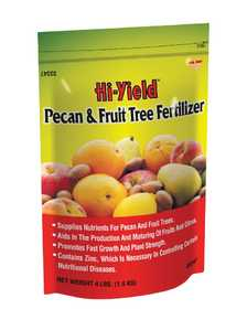 Hi-Yield FH33347 Pecan And Fruit Tree Fertilizer 12-4-4 4 Lbs