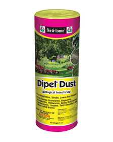 Ferti-Lome FE10586 Dipel Dust Biological Insecticide 1 Lb