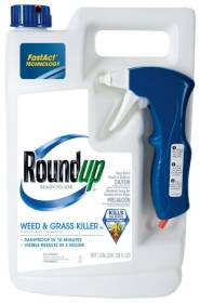 Monsanto 5003210 Roundup Weed & Grass Killer Rtu 1 Gal