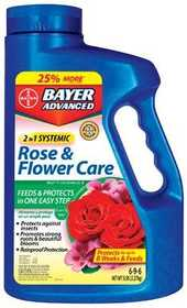 Bayer Advanced 502610B Rose & Flower Granules 5lb