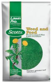 Scotts 51105 Lawn Pro Weed & Feed 5m