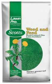 Scotts 51115 Lawn Pro Weed & Feed 15m