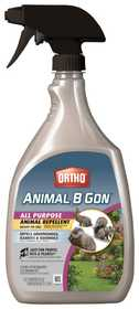 Ortho OR489710 Animal B Gon All Purpose Animal Repellents Ready To Use 24 oz