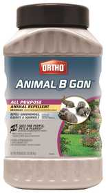 Ortho 489910 Animal B Gon All Purpose Animal Repellent Granules 2 Lb