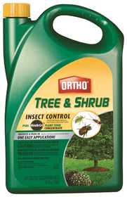 Ortho OR9901310 Tree & Shrub Insect Control+Miracle-Gro Plant Food Concentrate 64 oz