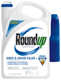Roundup 5003210 Ready-To-Use Weed & Grass Killer III 1 Gal