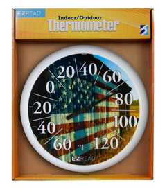 GENERIC CHEMICAL 840-0032 E-Z Read Dial Thermometer American Barn 13.25 in