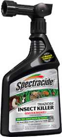 Spectracide HG-95830 Triazicide Insect Killer For Lawns & Landscapes Ready To Spray 32 oz