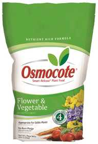 Osmocote OS277960 Smart Release Flower & Vegetable Plant Food 8lb