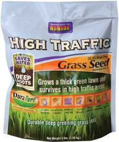 Bonide BP60281 High Traffic Grass Seed 3lb