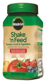 Miracle-Gro MR1008111 Shake 'n Feed +Calcium Tomato Continuous Release Plant Food 1lb