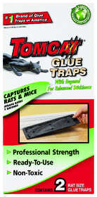 TOMCAT 32431 Rat Glue Trap 2pk