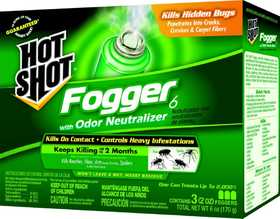 Central Garden HG-96180 Hot Shot Indoor Fogger 3 Pk 2 oz