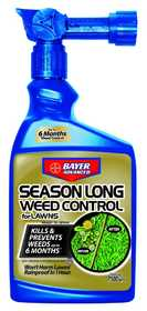 Bayer Advanced 704040B Season Long Weed Control For Lawns Ready-To-Spray 24 oz