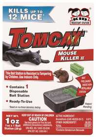 TOMCAT MC23310 Mouse Killer II Disposable Station