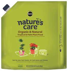 Scotts Miracle-Gro MR100127 Natures Cure Organic Tropical & Palm Food 3 Lbs