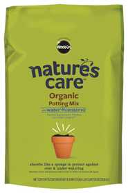 Scotts Miracle-Gro Co MR71678120 Natures Care Organic Potting Mix With Water Conserve 8qt
