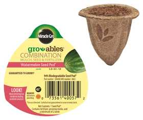 Scotts Miracle-Gro Co MR140057 Groables Watermelon Seed Pod