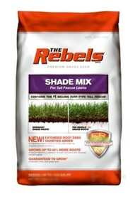 Pennington Seed 01335 Rebel Tall Fescue Shade Mix Powder Coated Seed 20lb