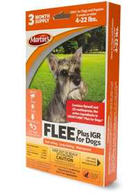 Martins MT2482 FLEE Plus Igr For Dogs 4-22 Lbs