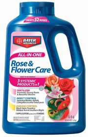 Bayer Advanced 701110A All In 1 Rose & Flower Care 4lb