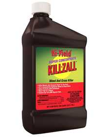 Hi-Yield 33692 Super Concentrate Killzall Weed And Grass Killer 41% Qt