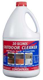 GENERIC CHEMICAL 1G30S 30 SECONDS Outdoor Cleaner Concentrate 1 Gal