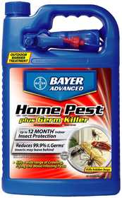 Bayer Advanced BY700480A Home Pest Plus Germ Control Ready To Use 1 Gal