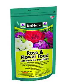 Ferti-Lome FE10846 Rose And Flower Food With Systemic Insecticide 4 Lbs