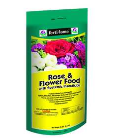 Ferti-Lome FE10847 Rose And Flower Food With Systemic Insecticide 15 Lbs