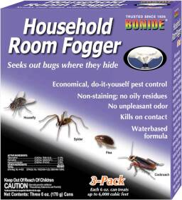 Bonide BP683 Household Room Fogger 3pk 6 oz