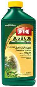 Ortho 9990510 Bug B Gon Year Long Concentrate 40 oz