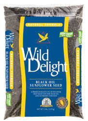WILD DELIGHT 36105 Wild Sunflower Black Oil 5lb