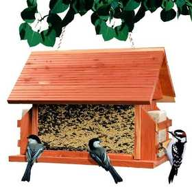 Perky Pet 50153 The Lodge Cedar Bird Feeder