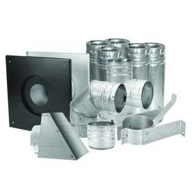 DuraVent 33100 4 in PelletVent Multi Fuel Horizontal Kit