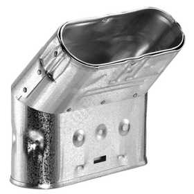DuraVent 4GWL45 Type B Gas Vent Oval 45d Elbow 4 in Standard