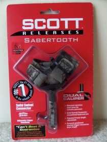 Scott Archery 1004BS2-CA Scott Archery Sabertooth Buckle Strap All Camo Bow Release 1004bs2-Ca