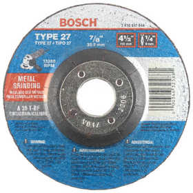Robert Bosch Tool 2610917844 Wheel Grinding 7/8 in A30t-Bf