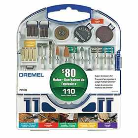 Dremel 709-01 Accessory Kit Super 110pc
