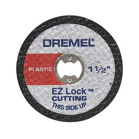 Dremel EZ476 Ez Lock Plstc Cutoff Wheels 5pc