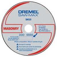 Dremel SM520C Masonry Cut Off Wheel 3 in