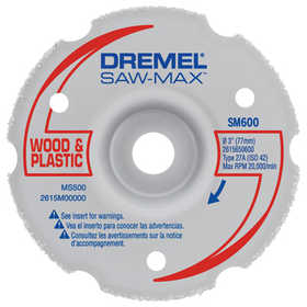 Dremel SM600 Wheel Carbide Flush Cut M Purp