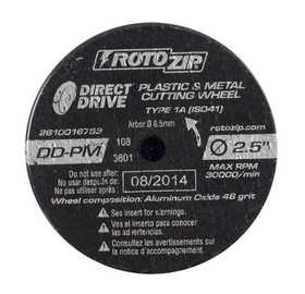Rotozip DD-PM5 Direct Drive Cut-Off Wheels