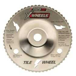 Rotozip XW-TILE1 X Wheel Tile Cutting Wheel 4 in