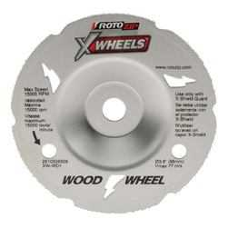 Rotozip XW-WD1 X Wheel Cutting Wood