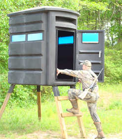 Southern Outdoor Tech SC2 Two Man Sportsmans Condo Hunting Blind 4x6