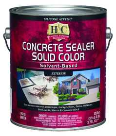 H&C Concrete 10.000004-16 Solid Color Concrete Sealer Clear Gal