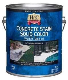 H&C Concrete 20.003214-16 Concrete Stain Solid Color Water-Based Gal