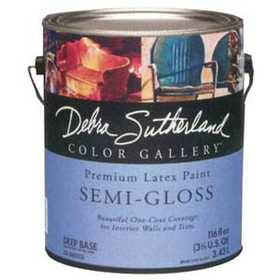 Debra Sutherland DS.000507-16 Debra Sutherland Semi-Gloss Interior Ultra White Gallon